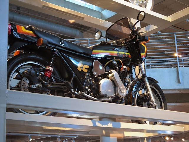 Kawasaki Z1R TC Turbo Motorcycle Barber Museum