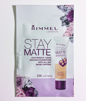 Rimmel Stay Matte Lightweight Liquid Mousse Foundation 200 Beige