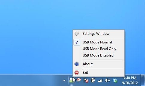 Phrozen Safe USB mendukung Windows XP, Windows Vista, Windows 7 dan Windows 8