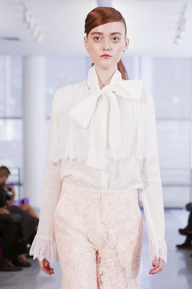 Yuna Yang Spring 2014 NYFW : Cool Chic Style Fashion