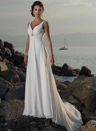 Wedding In Thailand: Ideas For Beach Wedding Dress 2012