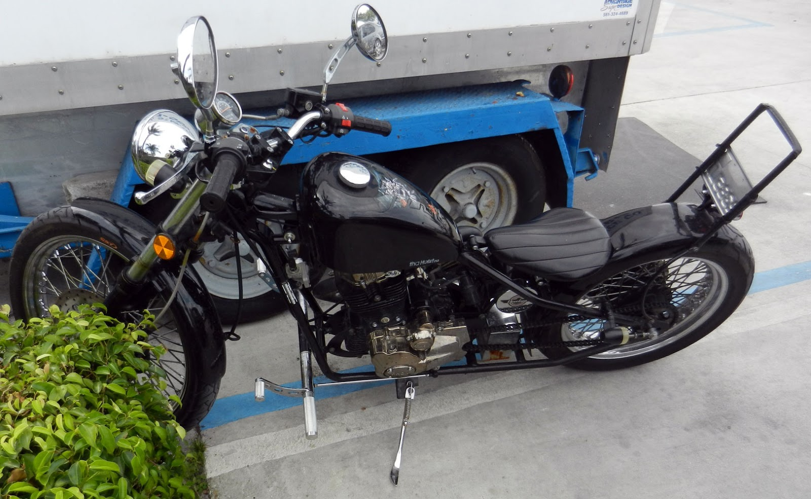 250cc chinese hard tail chopper worth a closer look. Black Bedroom Furniture Sets. Home Design Ideas