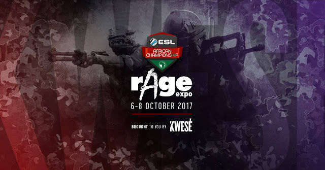 #eSports to Dominate @rAgeExpo @KweseGam3r #rAgeExpo2017 #15YearsofAwesome
