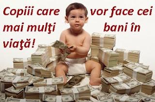 Copiii si banii
