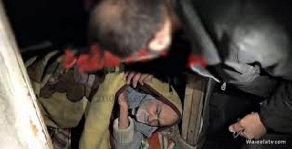 """بذريعة أنه فاقد للذاكرة..شاب سوري يحبس والده في قبو""""فيديو"""""""