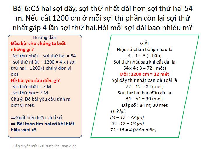 Bài tập đổi đơn vị đo độ dài - Toán lớp 5(13)