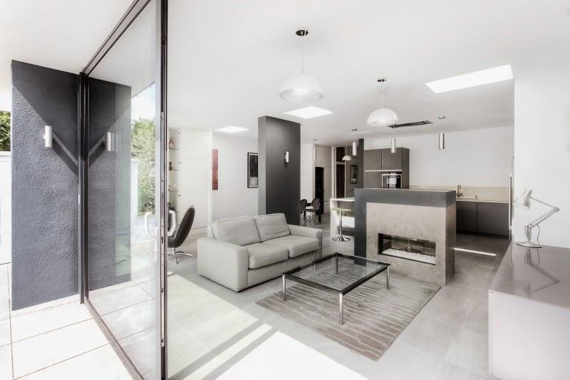 wall art Arquitetura Moderna Com Interior Elegante