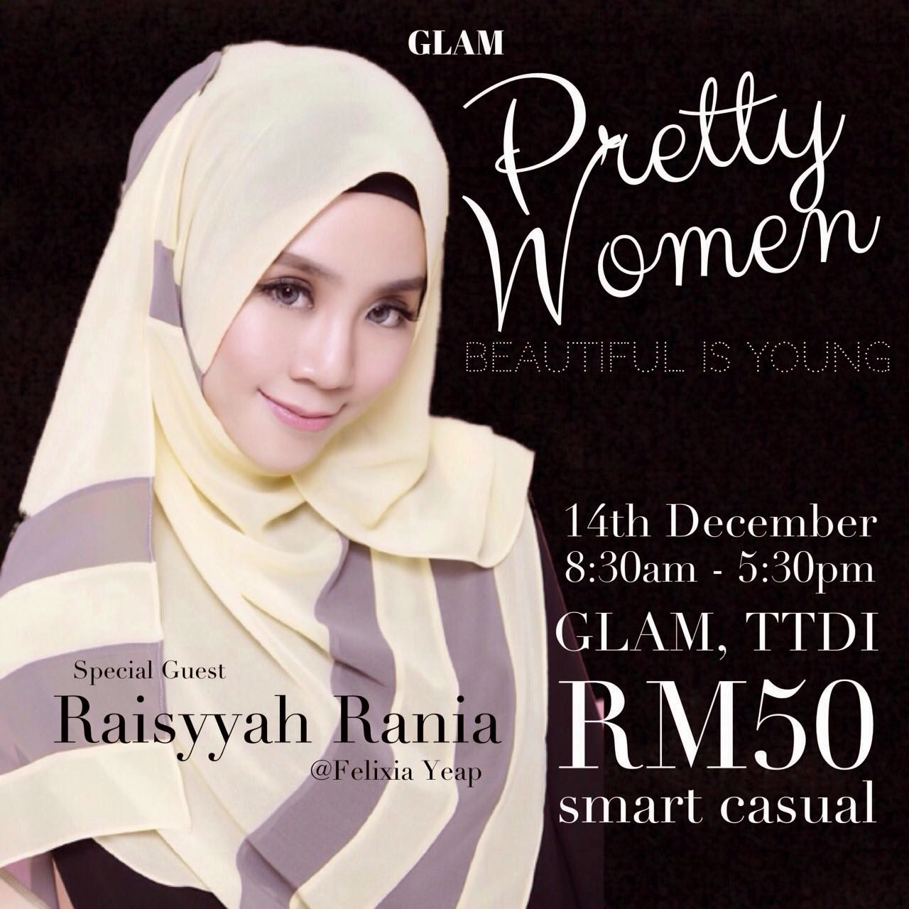 GLAM pretty women