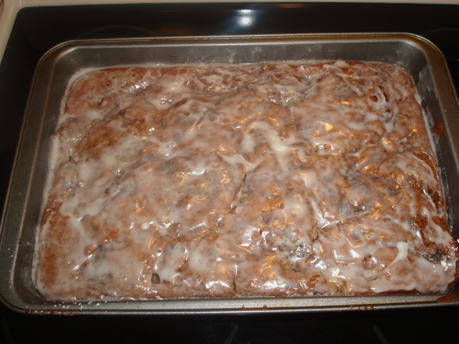 Apple Fritter Cake With Cake Mix