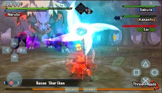 Naruto Shippuden Kizuna Drive Iso PPSSPP / PSP