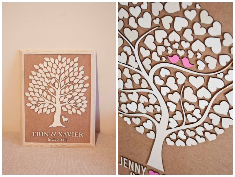 Five Fantastic Wedding Guest Book Ideas Picture