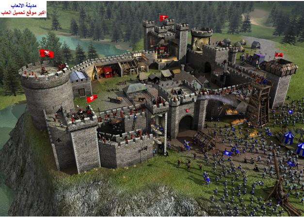 تحميل لعبة صلاح الدين سترونج هولد Stronghold 2 للكمبيوتر برابط مباشر ميديا فاير