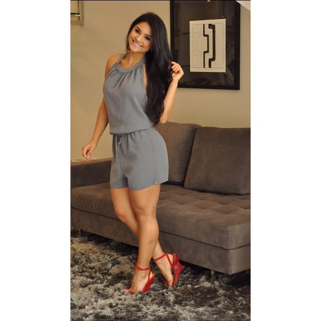 Macaquinho Tencel Jeans, da marca Pop Up Store.