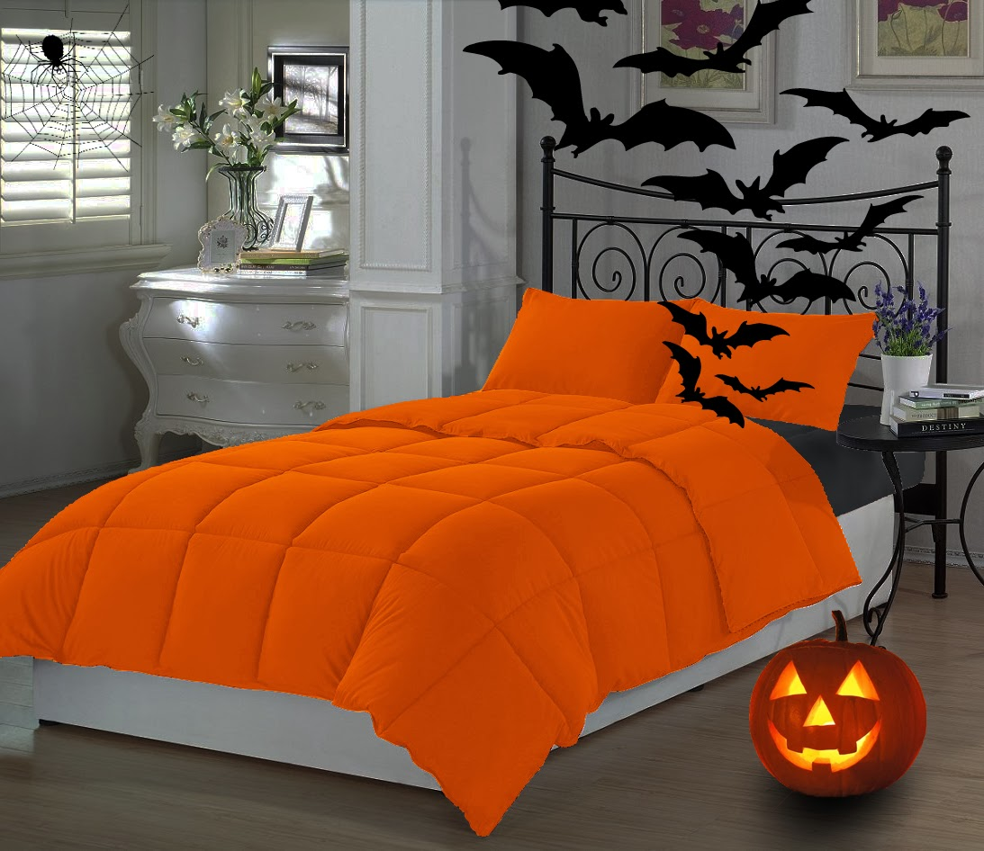 Halloween Themed Bedding