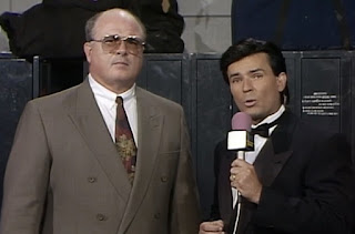 WCW Great American Bash 1992 - Eric Bischoff interviews Cowboy Bill Watts
