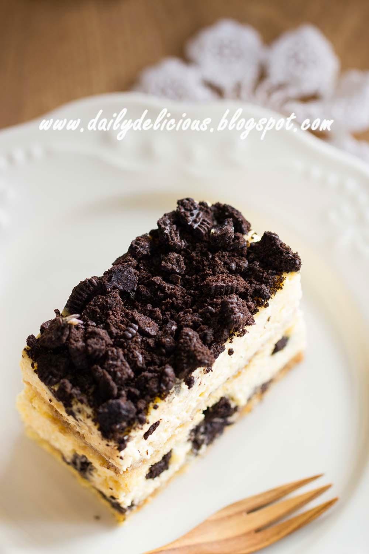 Dailydelicious Oreo Tiramisu Cake