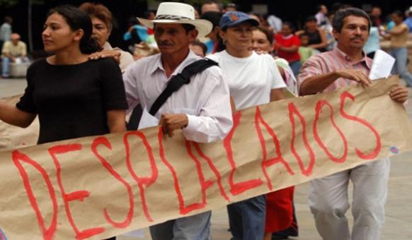 México: Piden reconocer los derechos de personas desplazadas