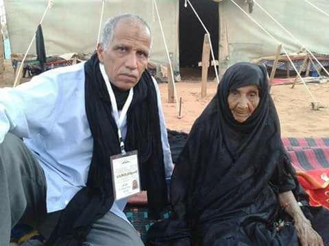 الأم النگية البكاي والدة قيدوم المعتقلين السياسيين الصحراويين سيدي محمد ددش في ذمة الله