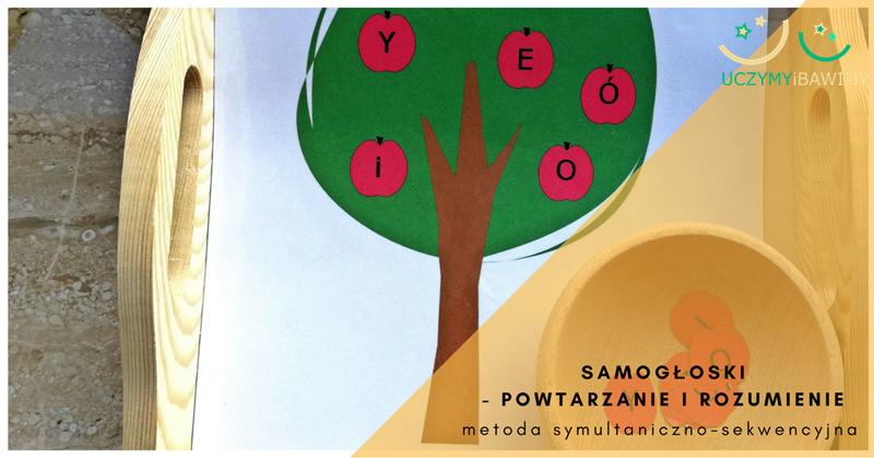 Samogłoski - powtarzanie i rozumienie. Metoda symultaniczno-sekwencyjna. Część 3.