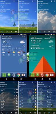 Transparent Clock And Weather Pro APK Android Widget Jam Dan Cuaca Transparan