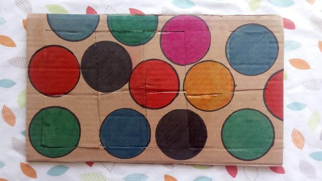 diy dla dzieci - zabawki z kartonu