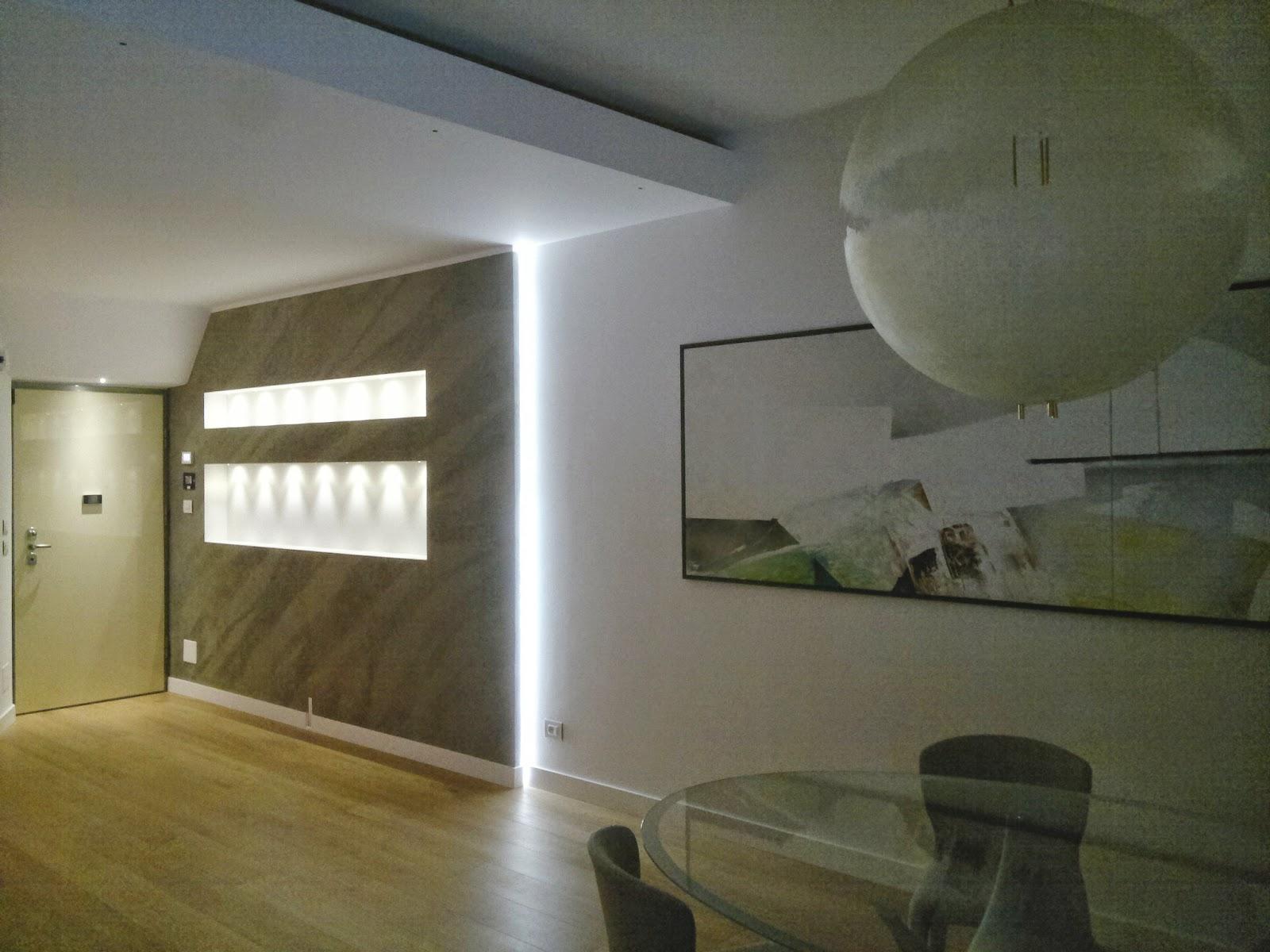 Illuminazione led casa torino ristrutturando un for Illuminazione con faretti a led