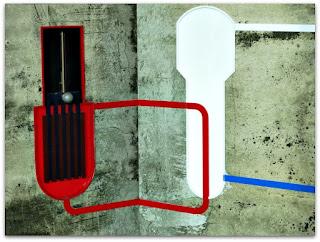 Reator Nuclear e Tubulação do Vapor de Água (Museu de Ciência e Tecnologia da PUCRS)