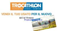 Logo Trocathlon 2017 : vendi il tuo usato per il nuovo e ricevi buoni spesa