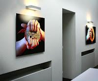 """Cali Rezo Série Chairs Fraiches - Exposition """"d'Inspiration Jérôme Bosch"""", Galerie de la Marraine"""