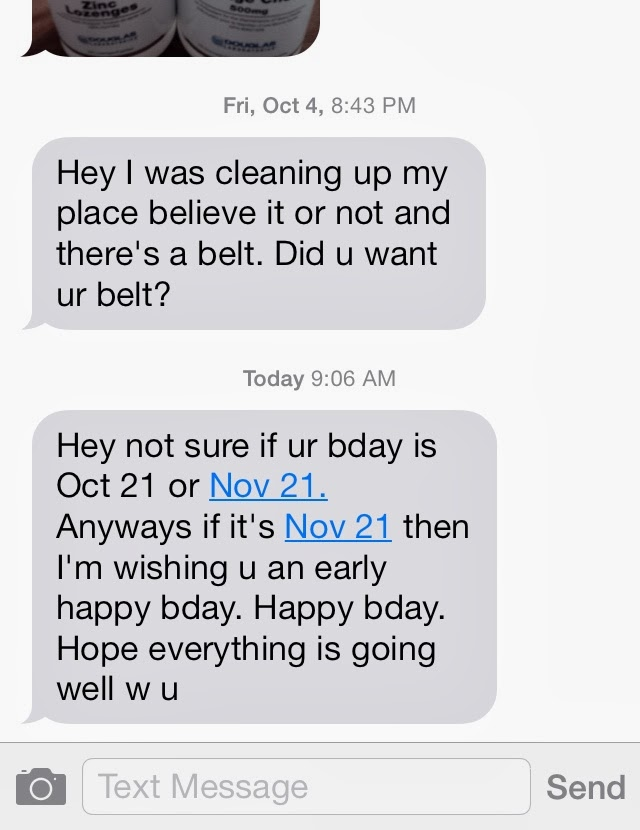 Text your ex back across the bow examples, i want him back should i
