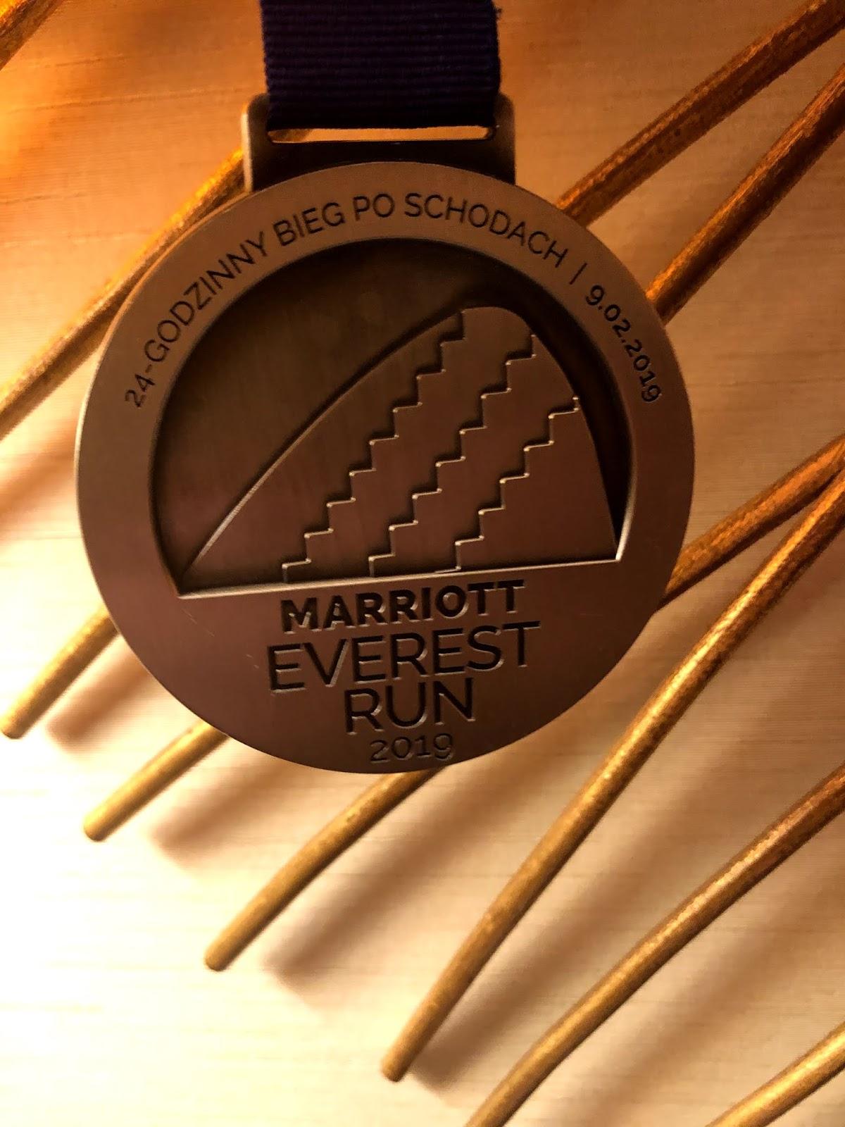 840 pięter w 8 godzin czyli Everest Run