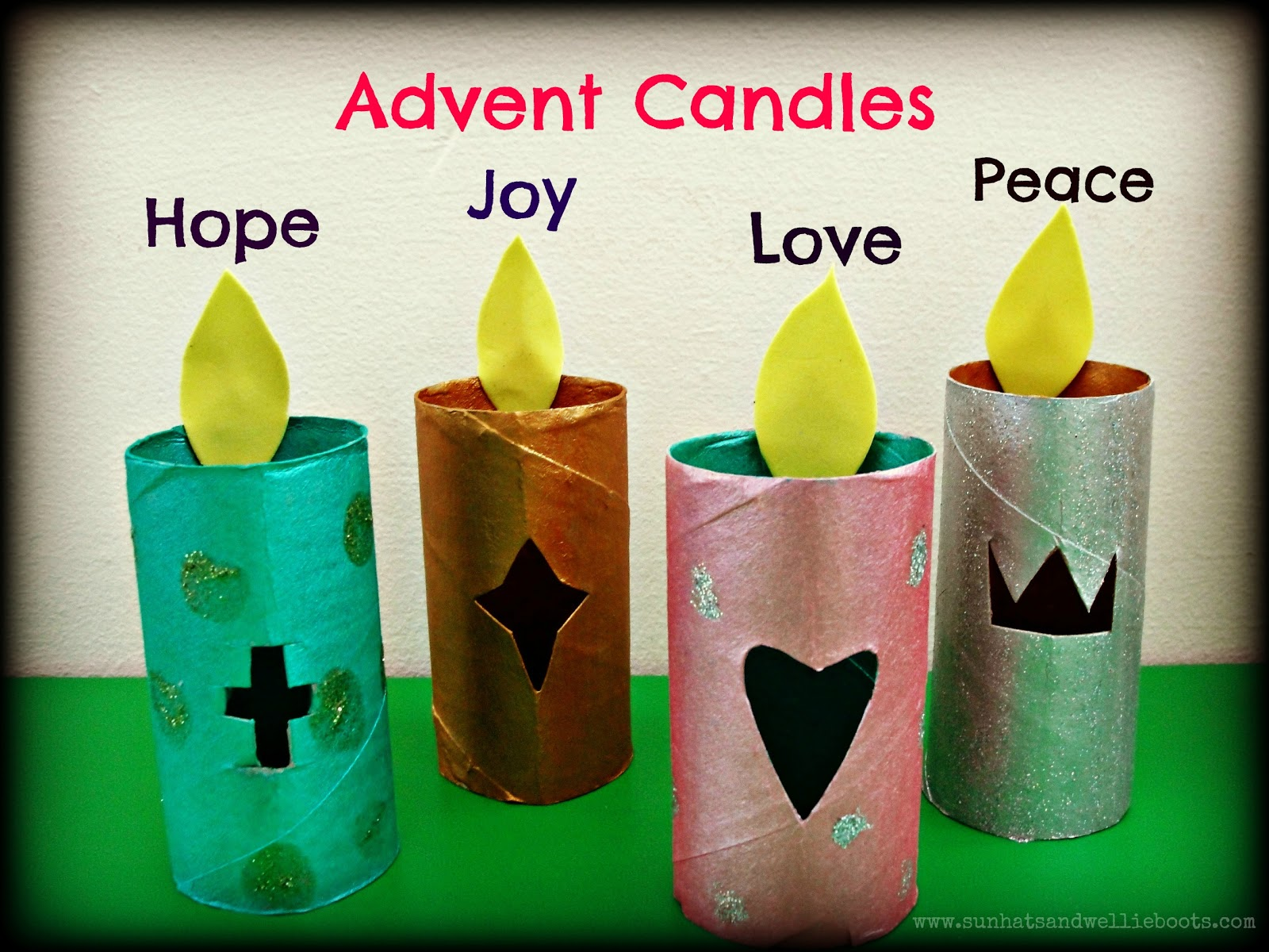 sun hats wellie boots glowing paper advent candles. Black Bedroom Furniture Sets. Home Design Ideas