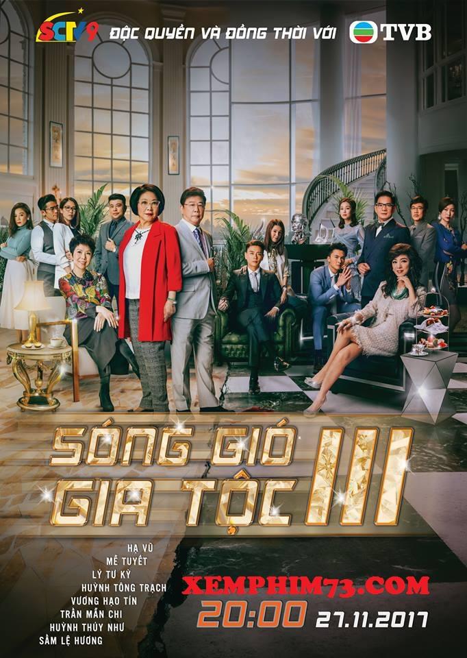 Phim Sóng Gió Gia Tộc 3 Hồng Kông -SCTV9 - TVB