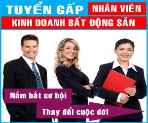 tuyen nhan vien kinh doanh bat dong san binh duong