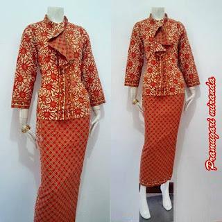 Labels Blouse Batik Pramugari Dress Batik