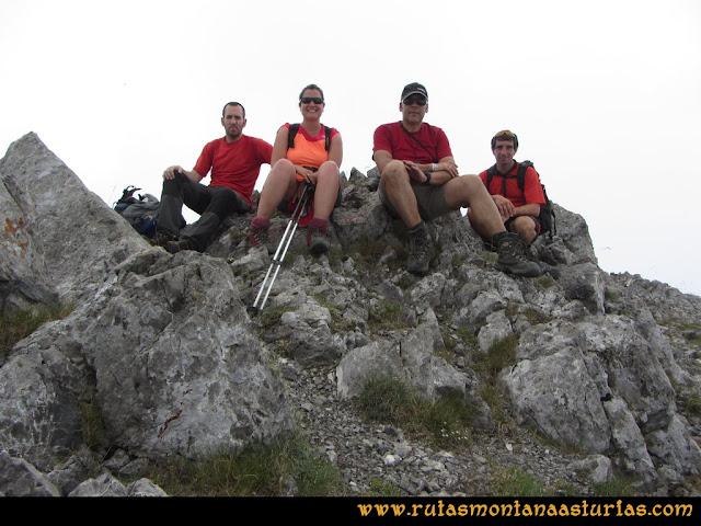 Ruta Tuiza - Portillín - Fontanes: Cima del Fontán Sur