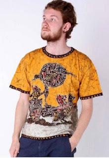 Kaos Batik Modern Trendy