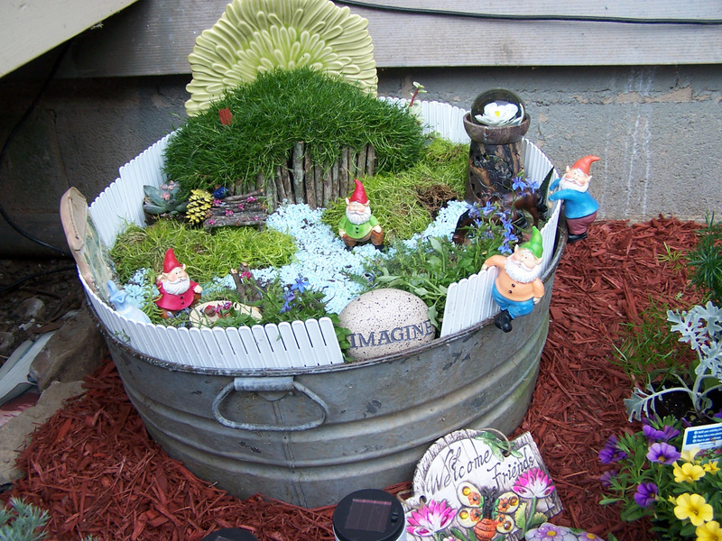 title>How to Build a Fairy Garden on a Budget Step by Step, DIY ...