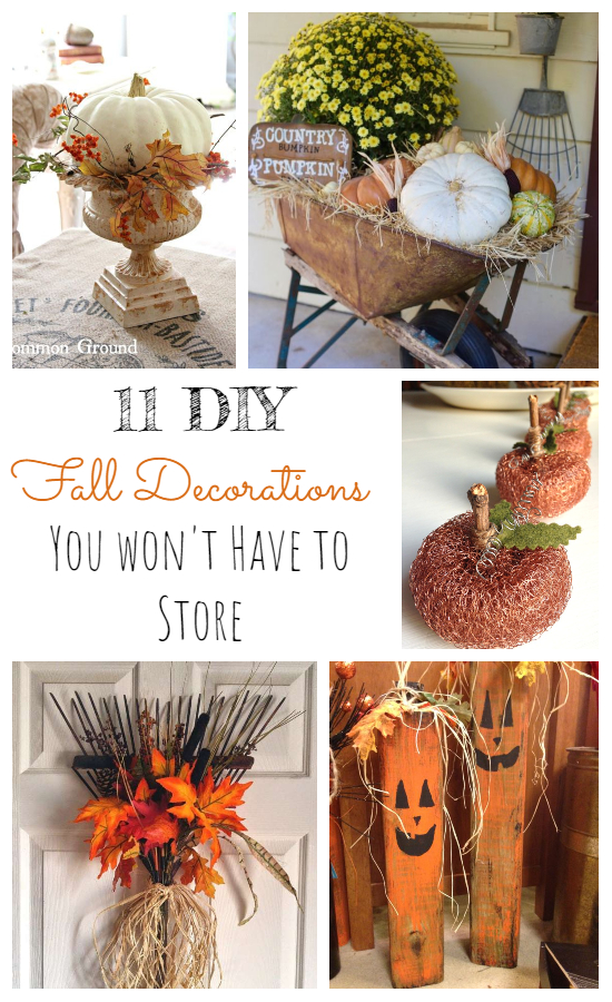 decorations you don't have to store