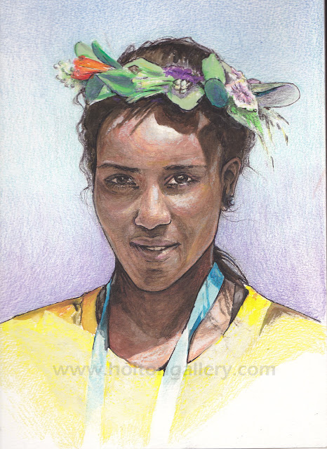 "Dibaba the Destroyer 11"" x 14"""