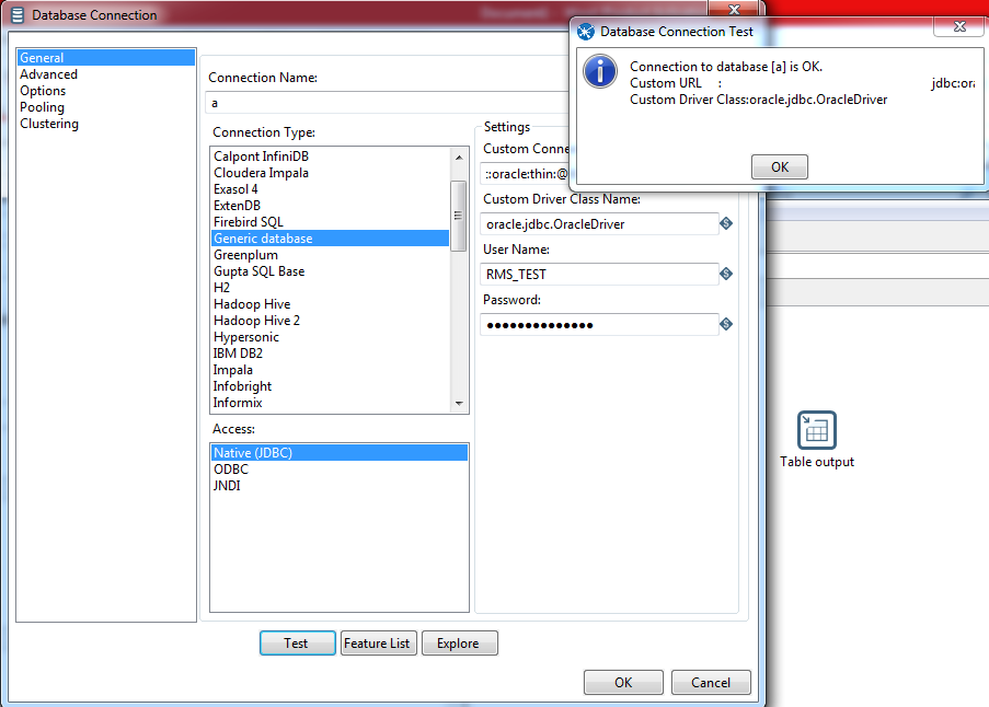 How to connect PENTAHO with Oracle Database (12c/11g