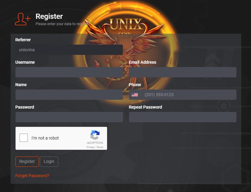 Unixcoin (UNX) là gì? Review Unixcoin và hướng dẫn đăng ký mua token Unixcoin