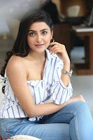 Avantika Mishra in One Shoulder Crop Top and Denim Jeggings ~  Exclusive 050.JPG