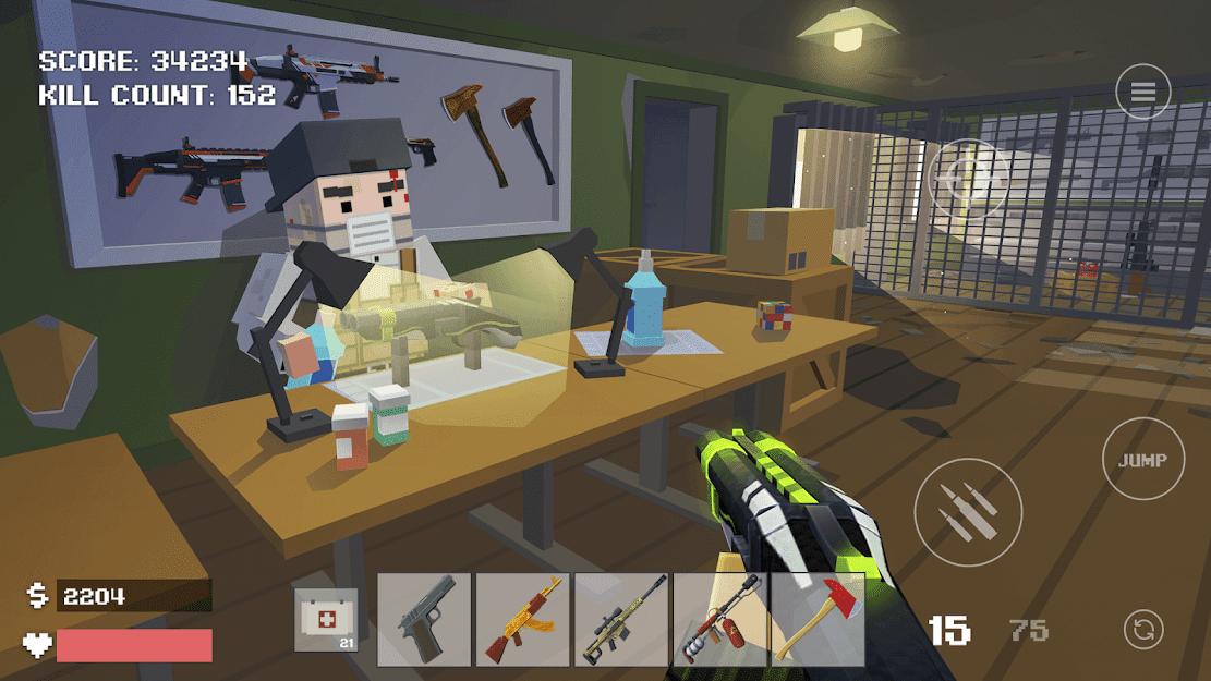 Baixar Pixel Combat: Zombies Strike v 3.10.3 b144 apk mod DINHEIRO INFINITO