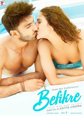 Befikre 2016 Hindi DVDScr 170mb HEVC x265