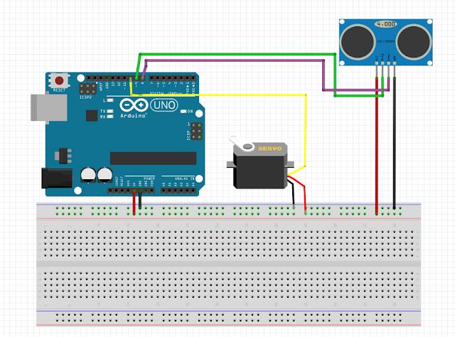 Amazoncom: SainSmart HC-SR04 Ranging Detector