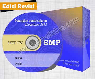 RPP MTK SMP Kelas VII Kurikurulum 2013 Revisi 2016