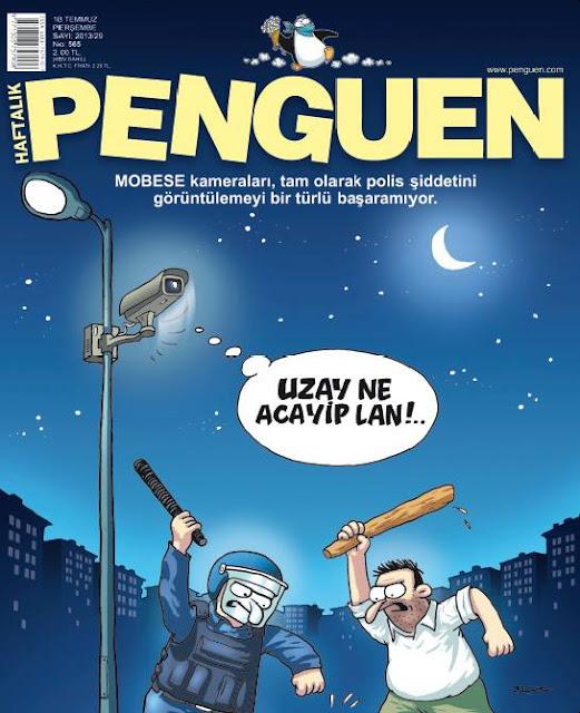 Penguen Dergisi | 18 Temmuz 2013 Kapak Karikatürü