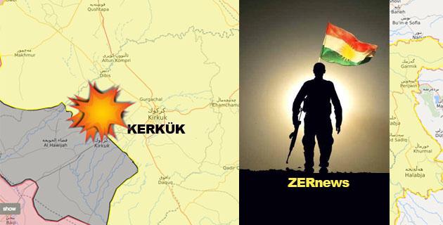 Peşmerge Patlama Kerkük Kürdistan