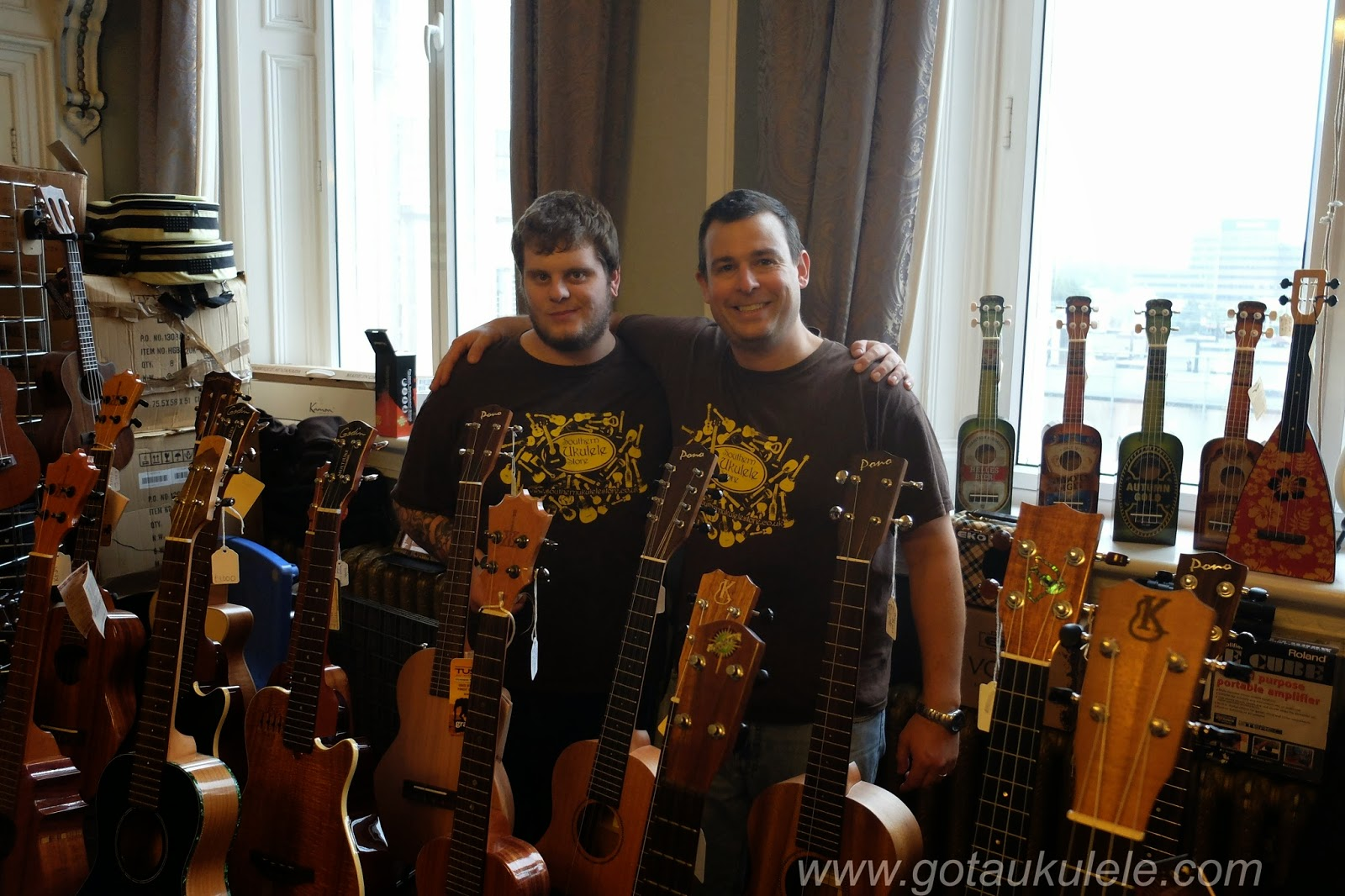 Grand Northern Ukulele Festival #GNUF Team SUS